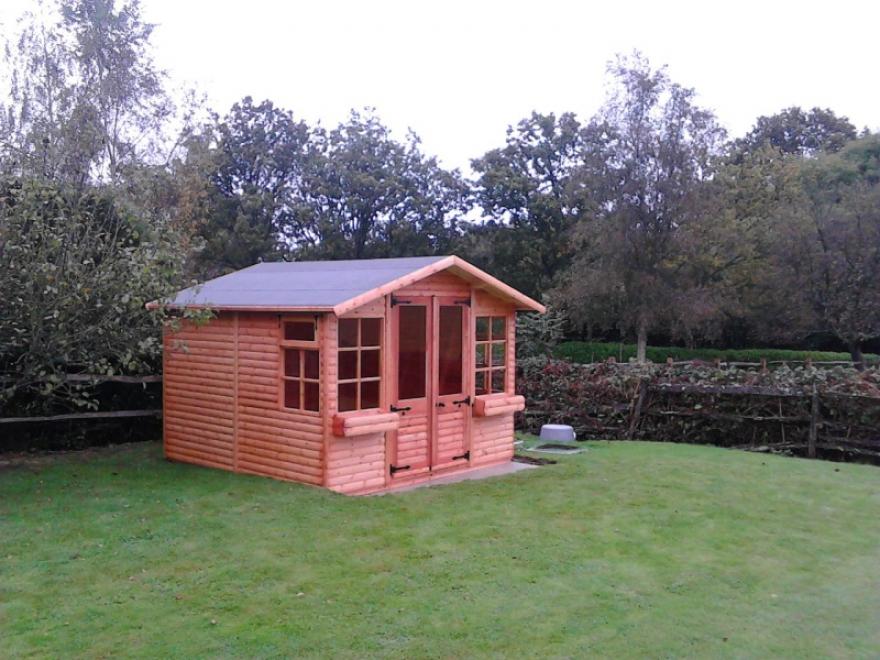 10' x 10' Kestrel garden room