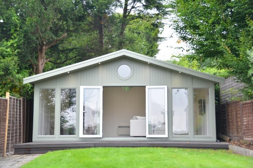 30sqm Merlin garden room in Redhill surrey