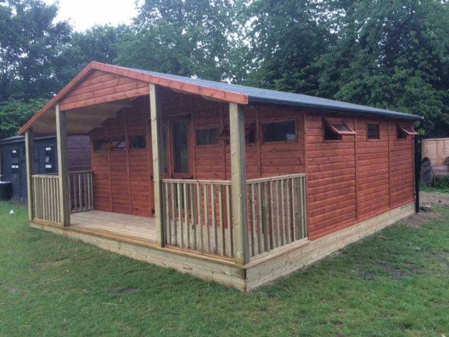 Cricket pavilion in Sussex