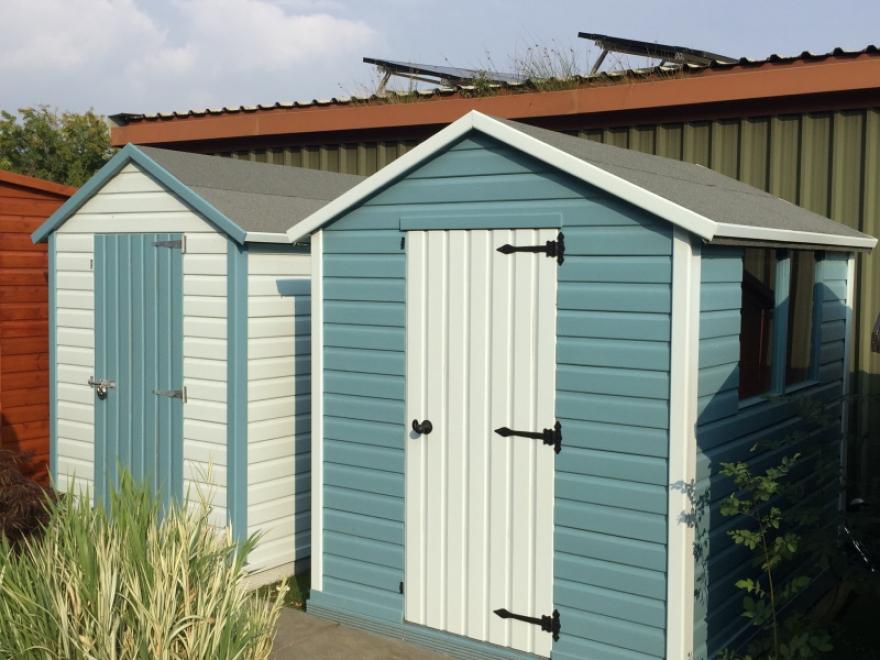 custom made garden sheds
