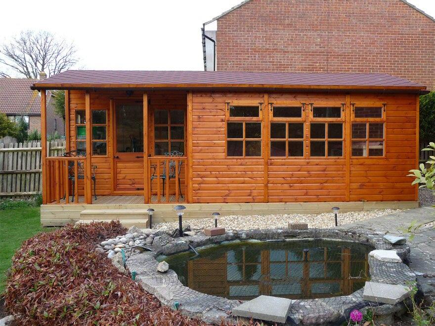 Kestrel with intergrated verandha
