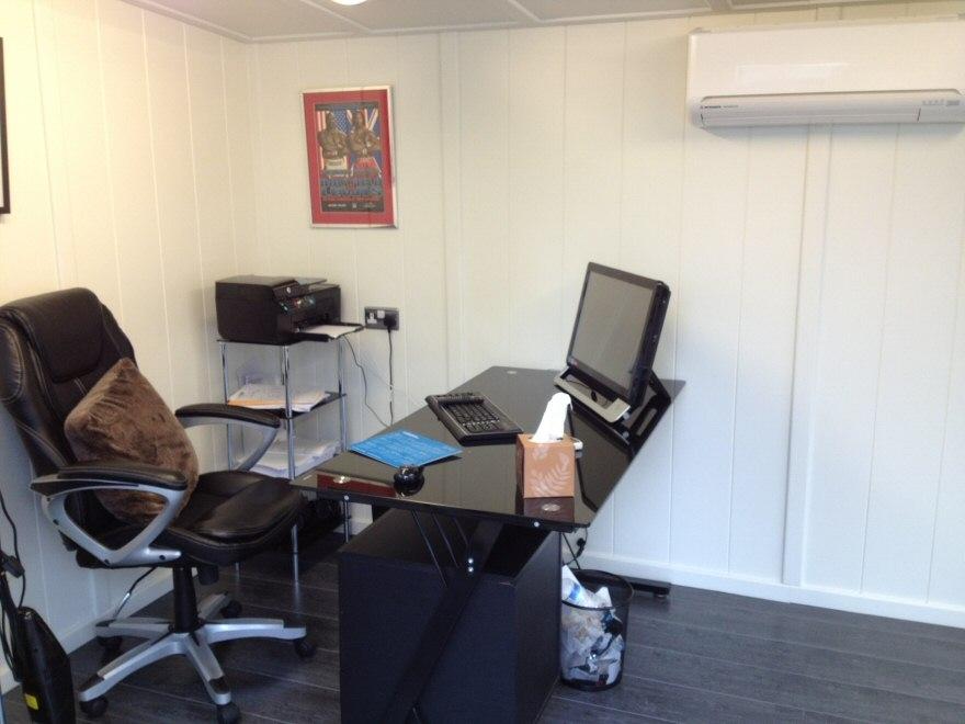 Sliding Door Gym Combination Office