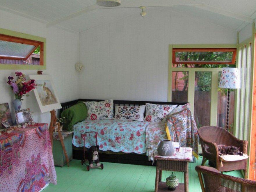wooden garden rooms