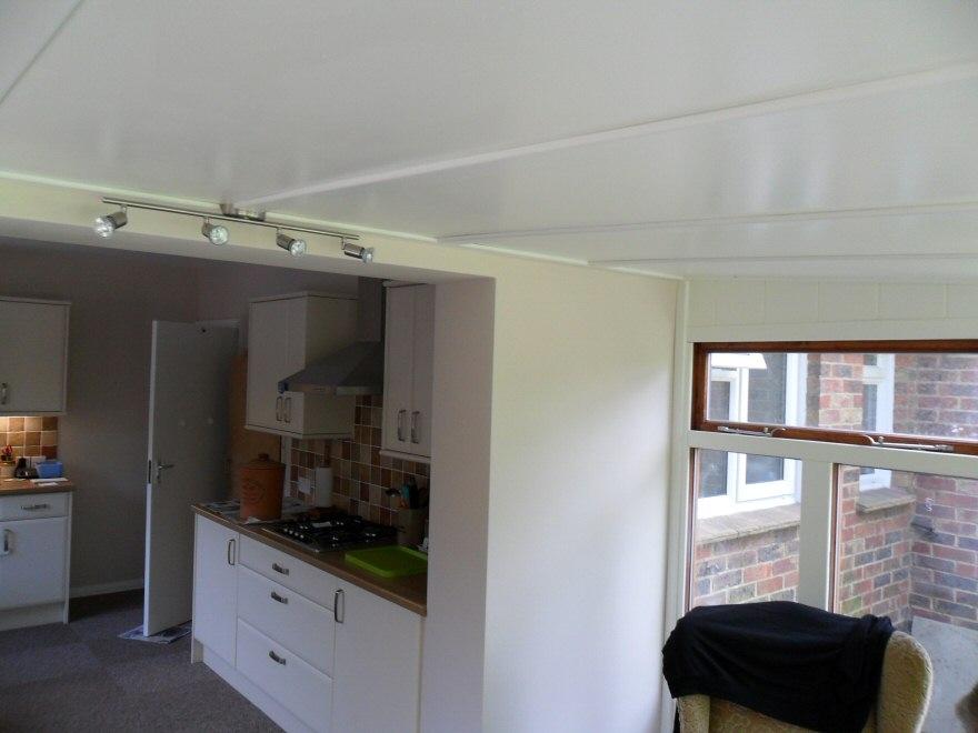 conservatory porch kitchen