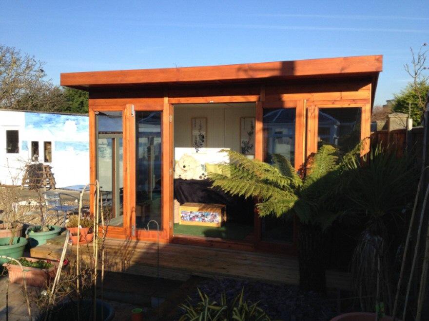 Contemporary garden room & summerhouse - case study 4836