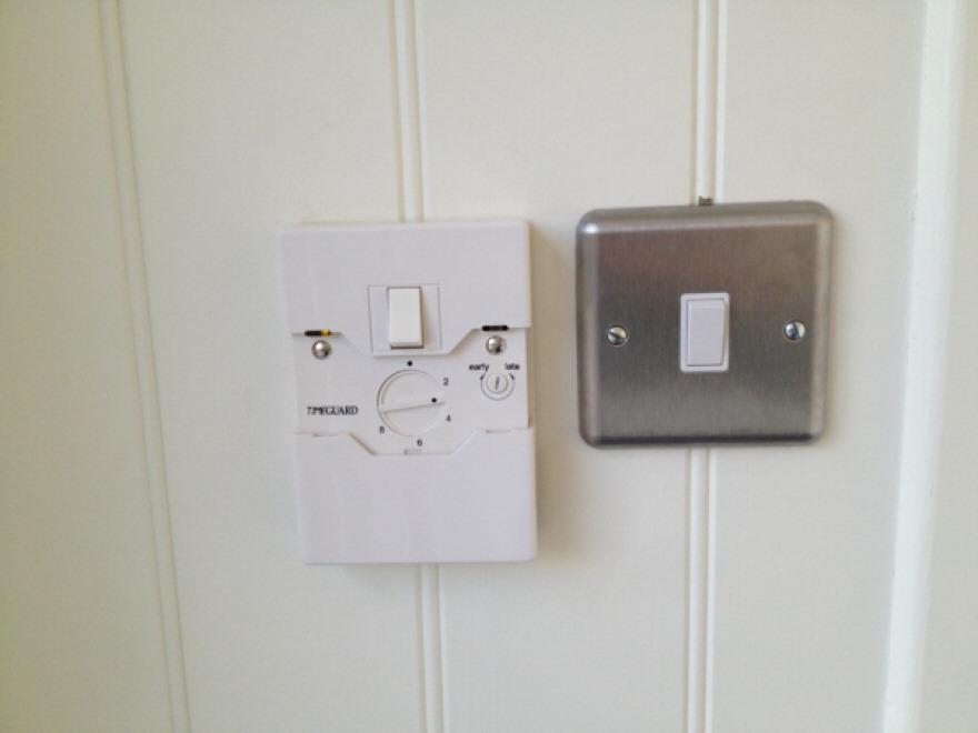 Dusk sensor for external lights