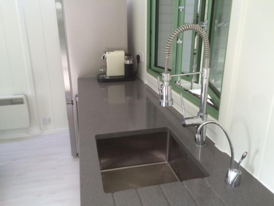 Sleek and modern kitchen