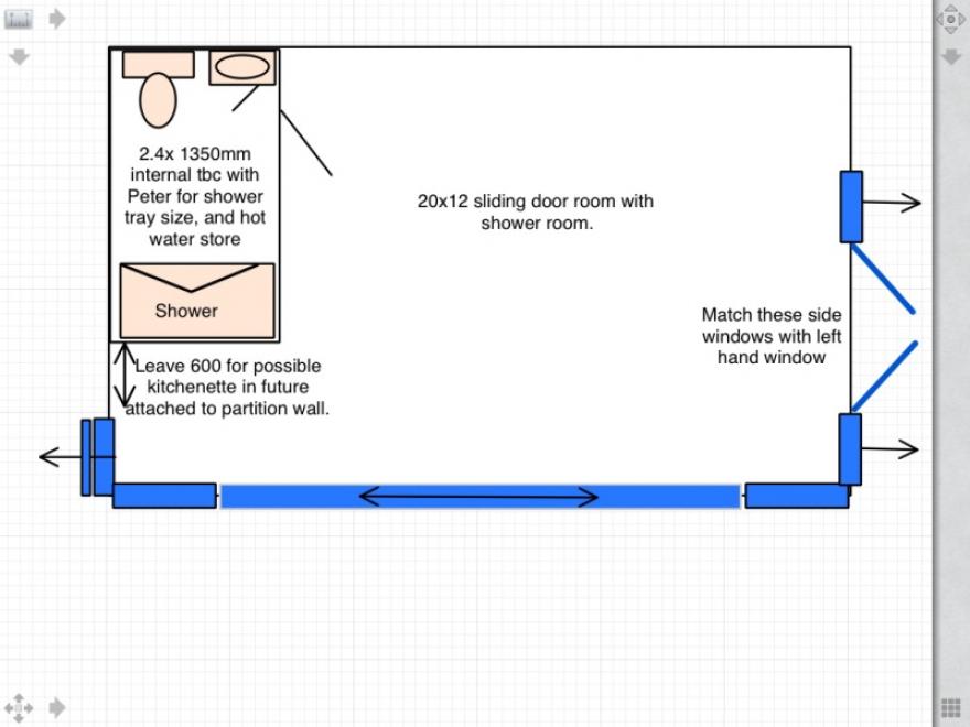 Garden Room Case Study 5204 floor plan