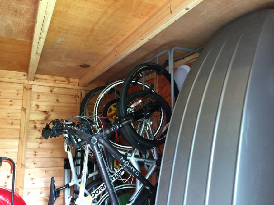 Bike rack plus loads more in the store