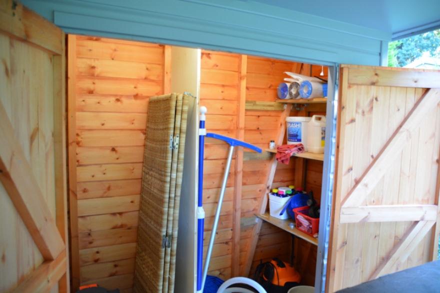 handy storage area