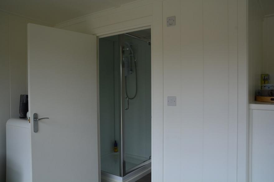 Integrated shower room