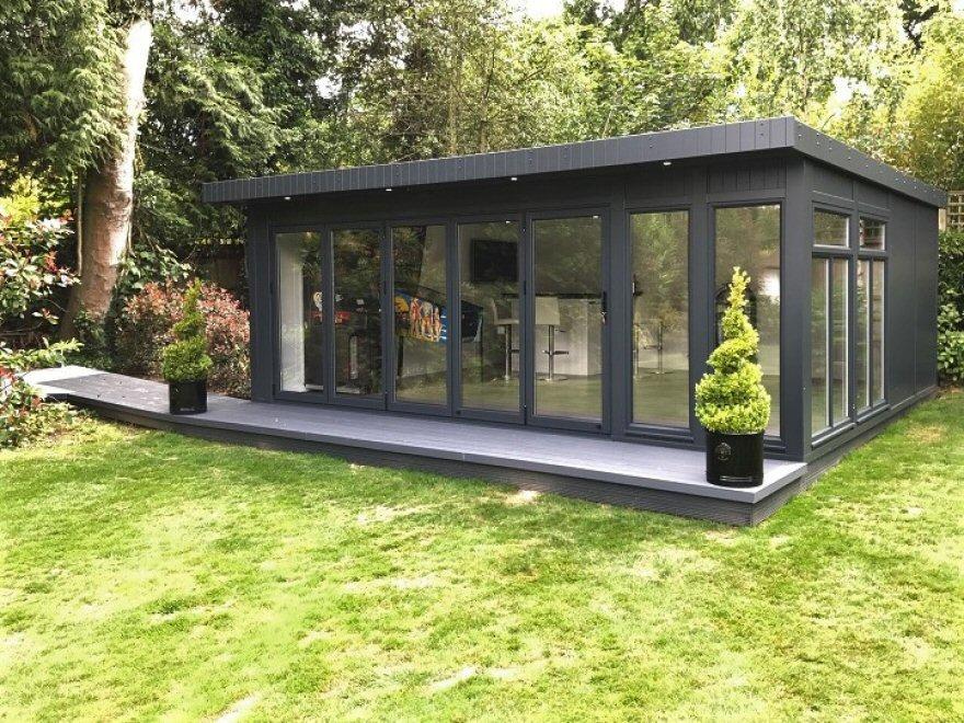 Bakers Timber Buildings Bi Fold Executive Summer House