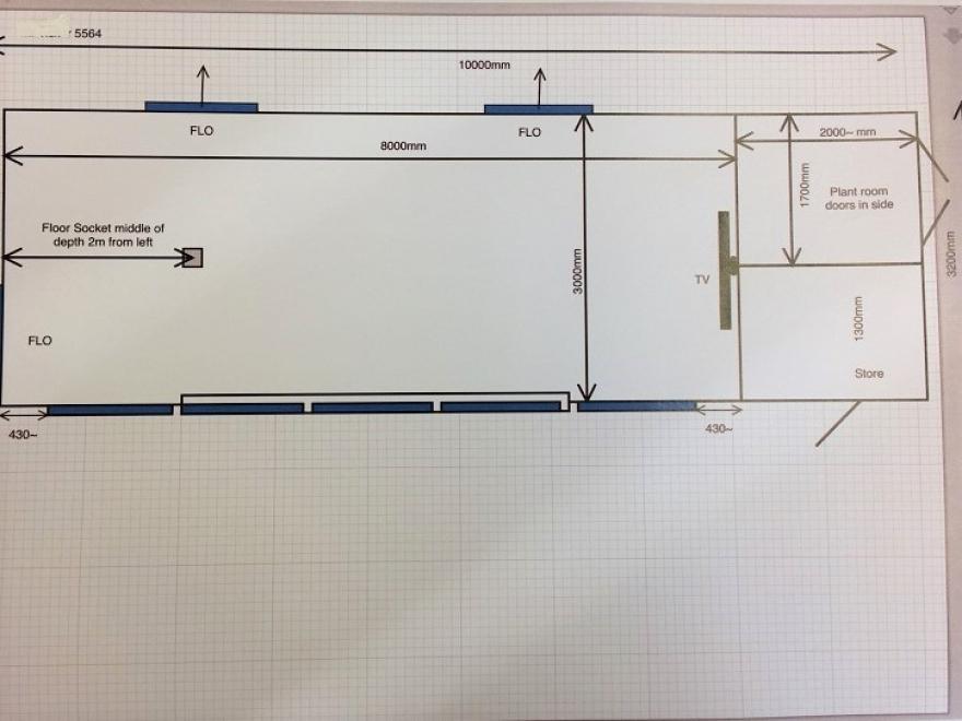 Detailed plan drawing