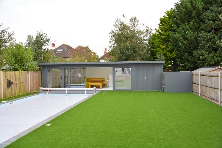 multipurpose poolside room in Surrey