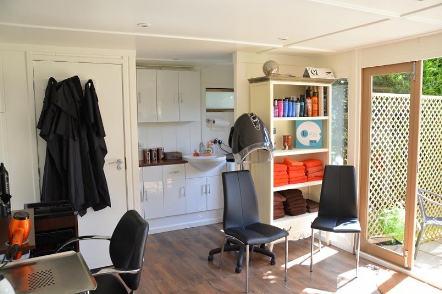 garden salon inside west Sussex