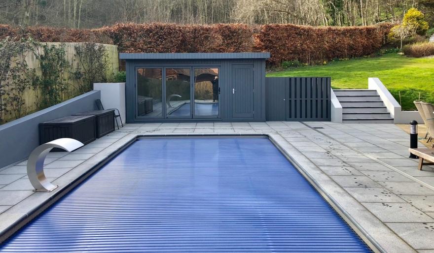 poolside room in Sussex
