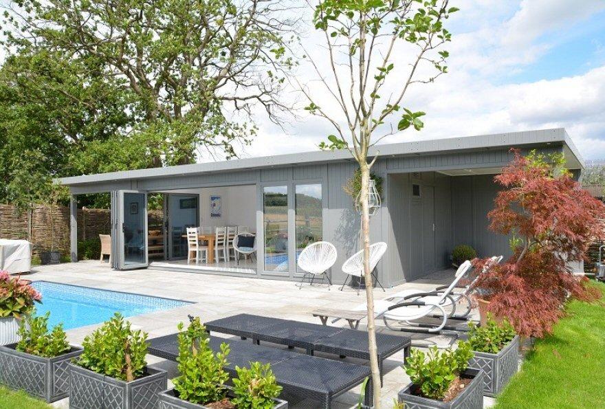 Pool-Side Summer House