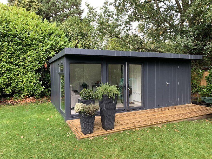 combination garden room