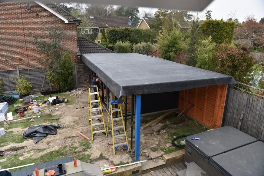 garden bar construction