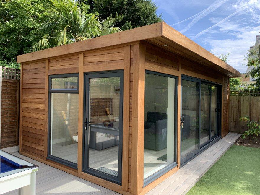 Cedar Clad Garden Room | Bakers Garden Buildings