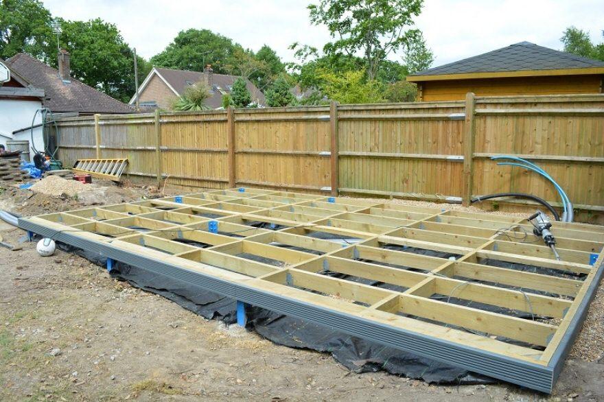 steel and timber framed base