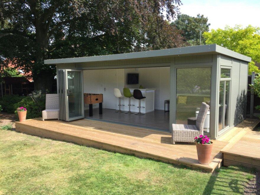 Bi-folding door garden room Chislehurst Greater london