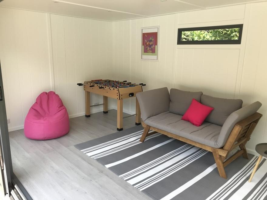 garden games room Ditchling East Sussex