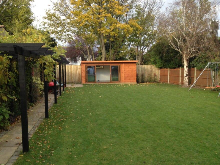 Combination 4-Pane Sliding Garden Room