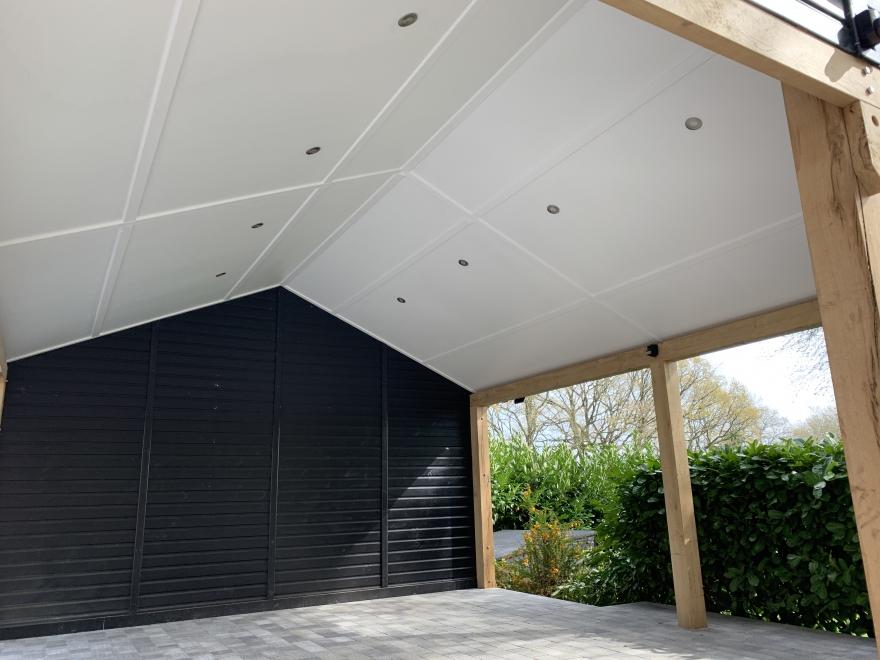 OAK Garage with canopy