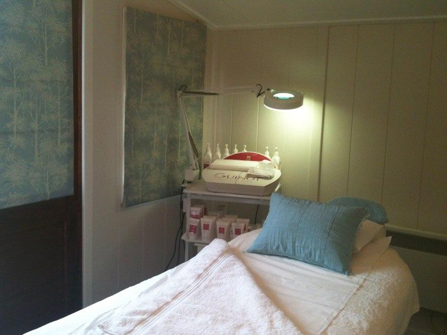 treatment room in you garden Sussex
