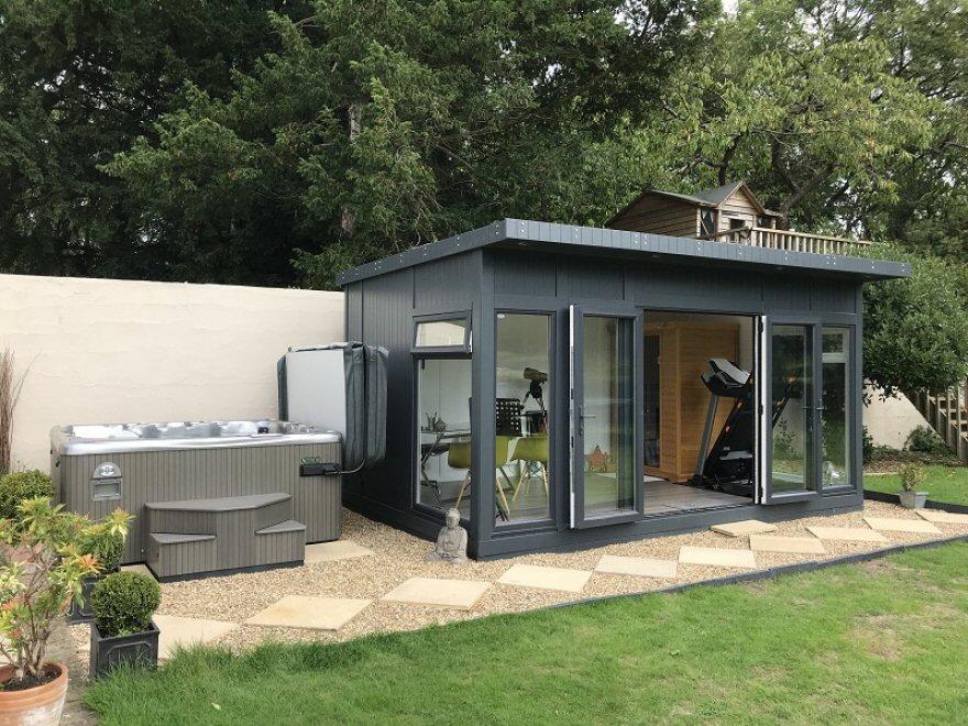 Sauna and hot tub room Caterham Surrey