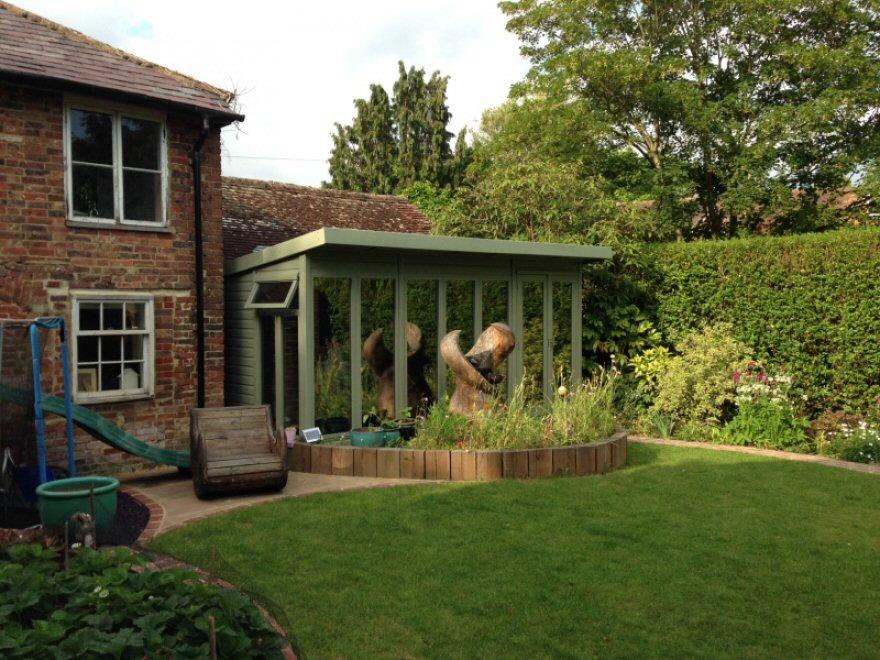 impressive garden room