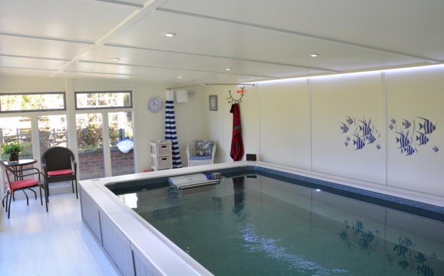 endless pool and room Kent