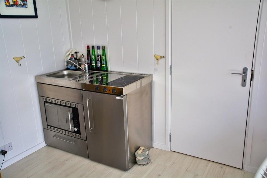 kitchen in a summerhouse