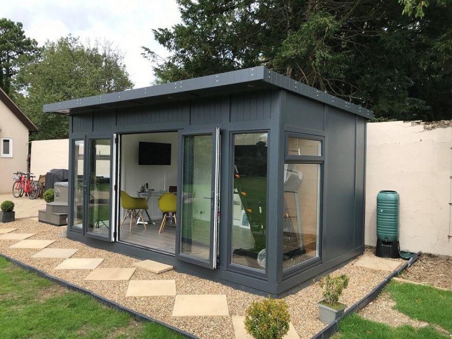 Garden office Caterham Surrey
