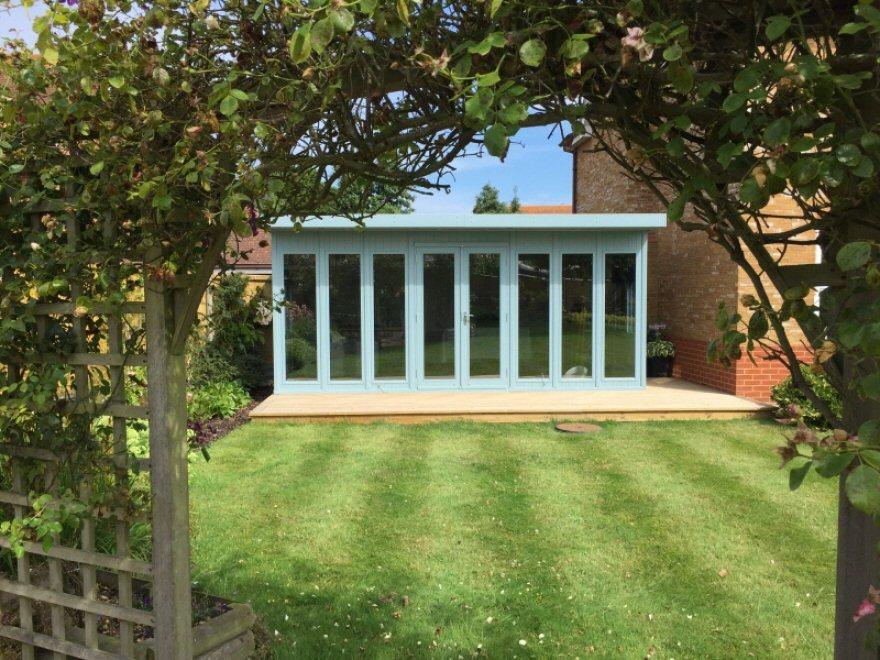 KIte garden room in whistable Kent