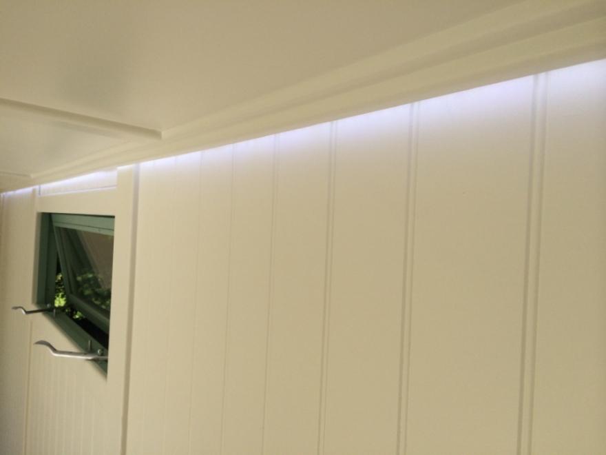 LED rear wall wash lights