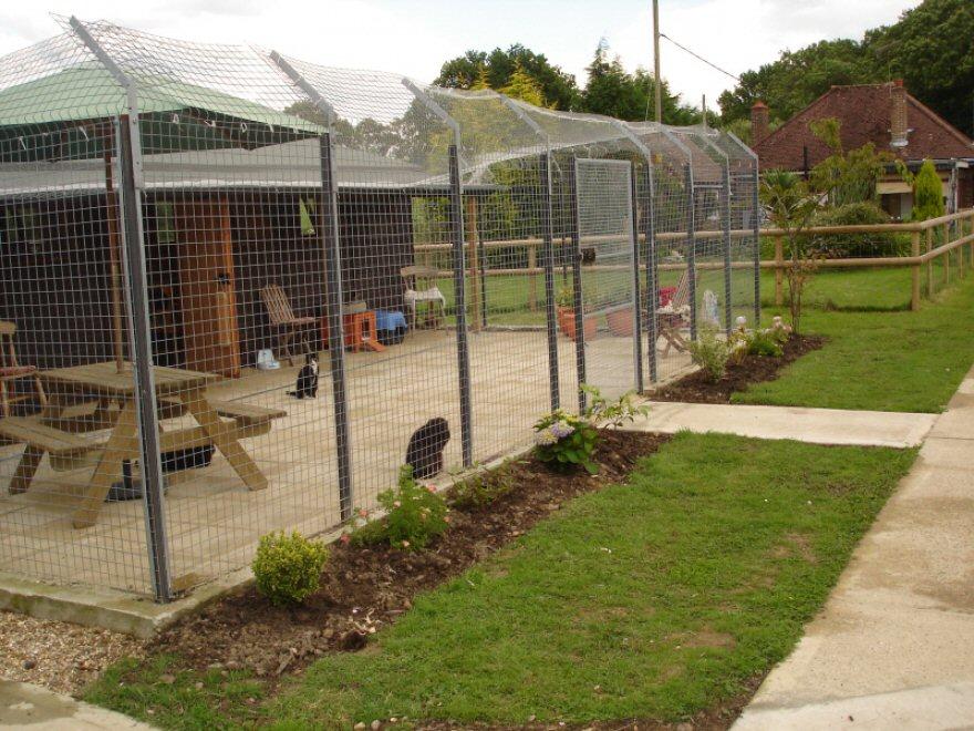 New pavilion garden