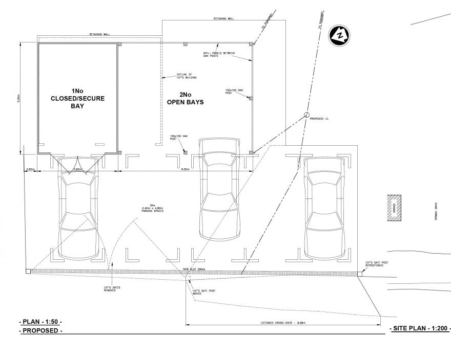 Garage planning drawings