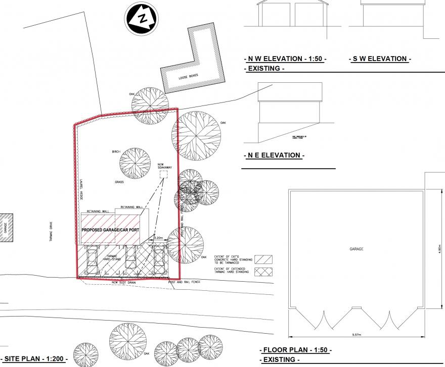 Workshop and garage plans