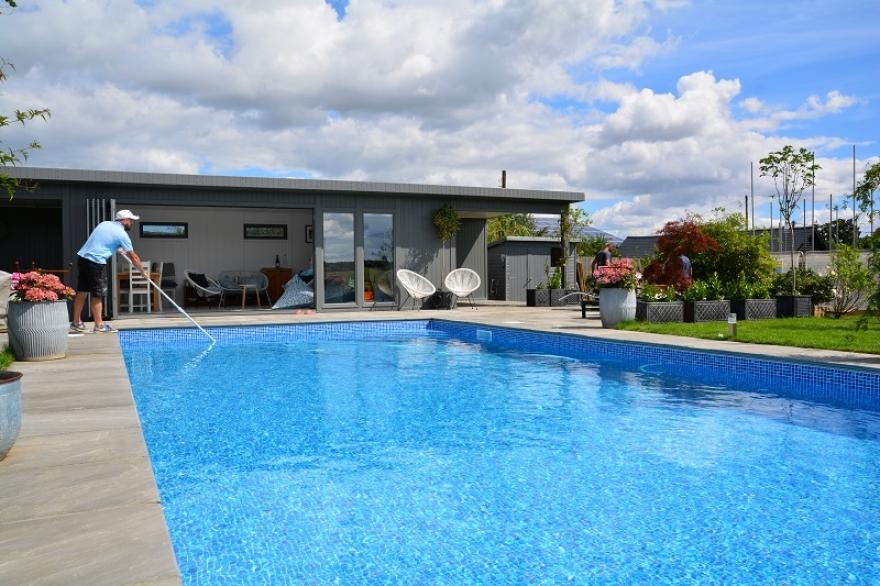 ultimate  pool-side room south England