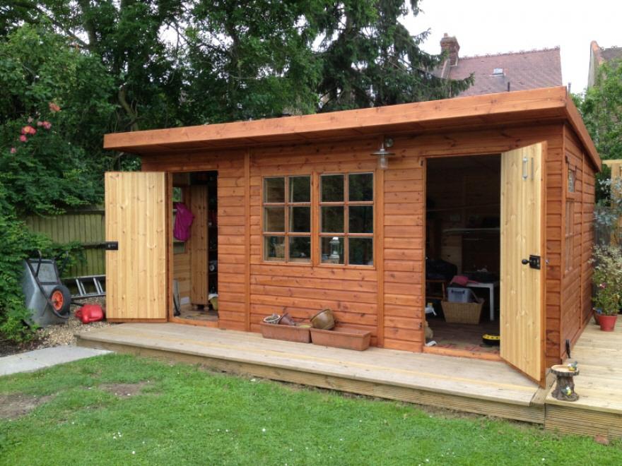 Rook work shop with divider and kestrel windows
