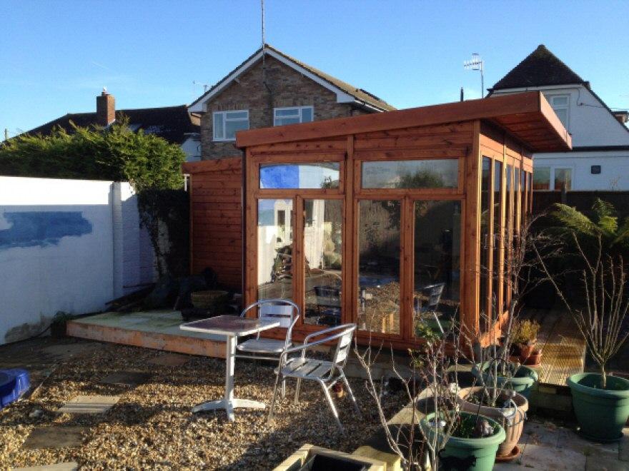 Garden room in Pevensy, East Sussex - Bakers Timber Buildings