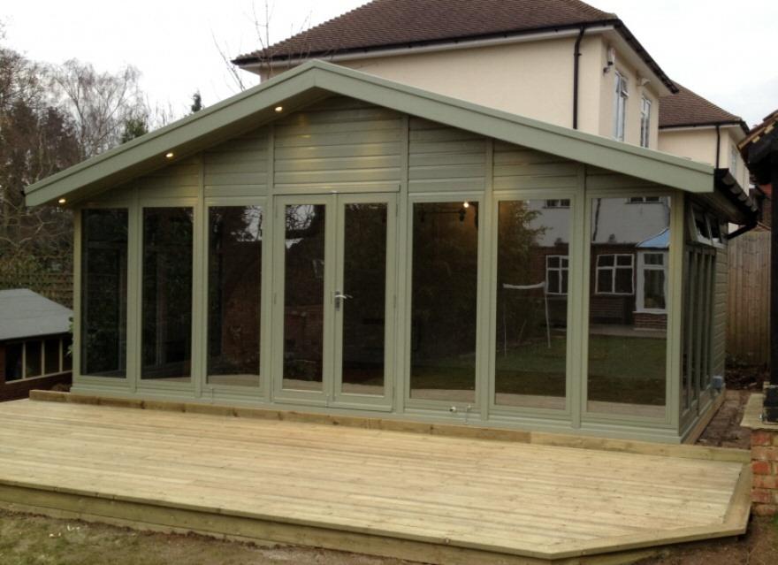 Standard Merlin garden room 30sqm in Croydon Surrey