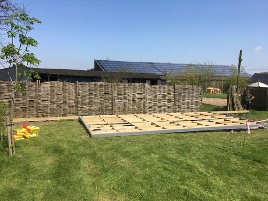 Garden building base