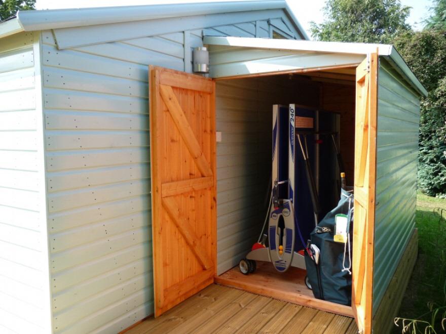 Combination garden room store in tunbridge wells kent for Combi garden room