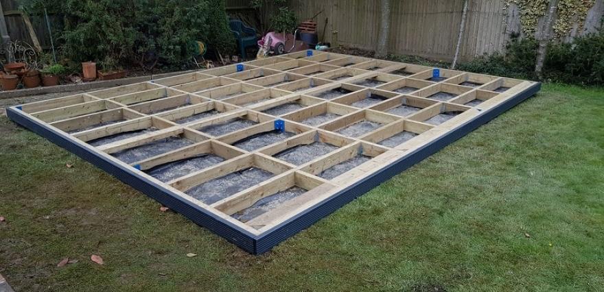 Timber Frame Base Installed in Wembley Park London