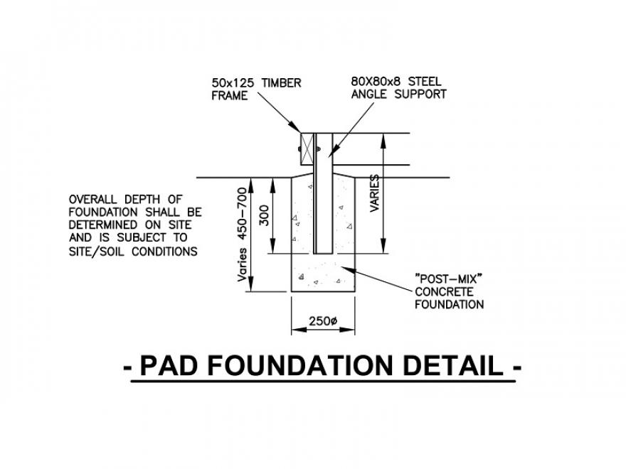 Timber frame base for garden buildings