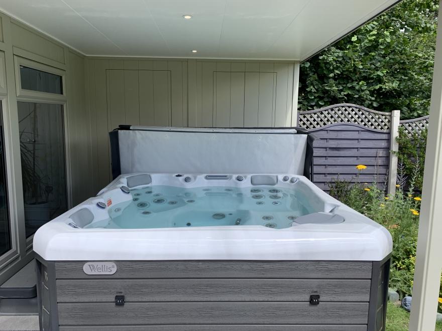 hot tub power