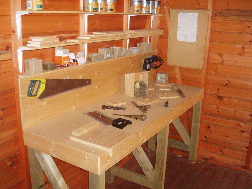 Workbench created inside Rook workshop